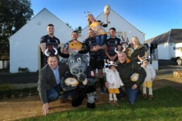 ayrshire Bulls Whiteleys Retreat charity partnership